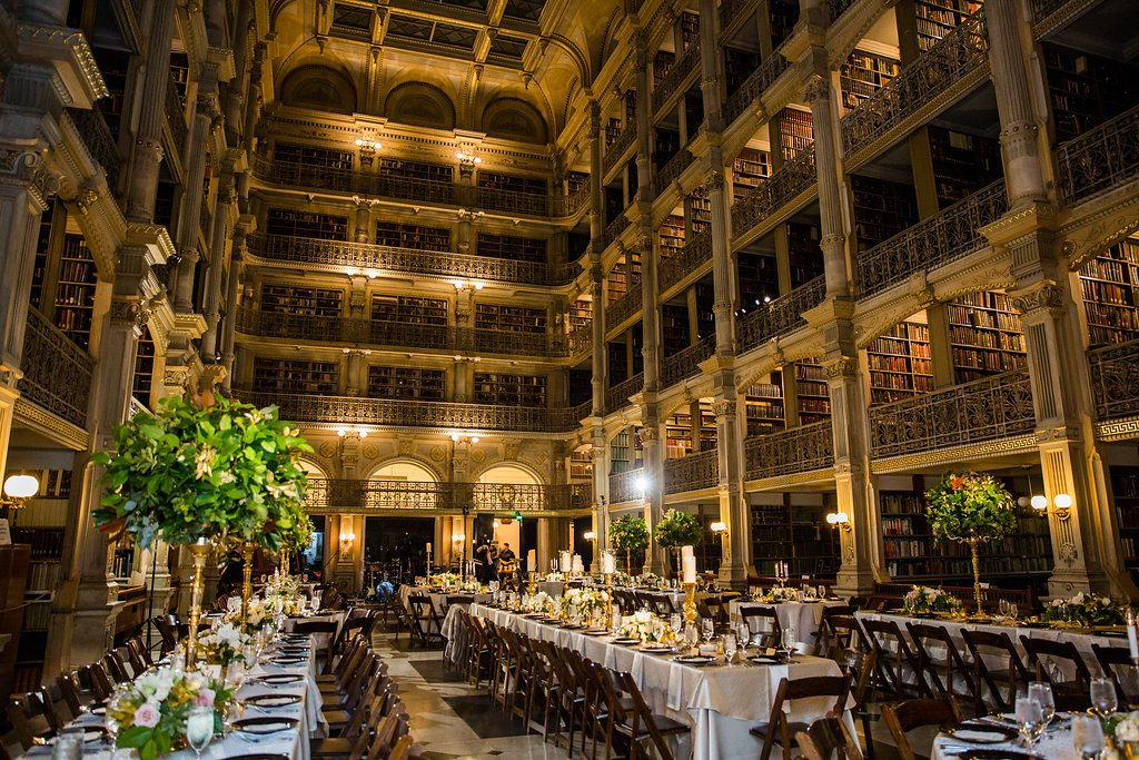 Photo Gallery George Peabody Library Private Events