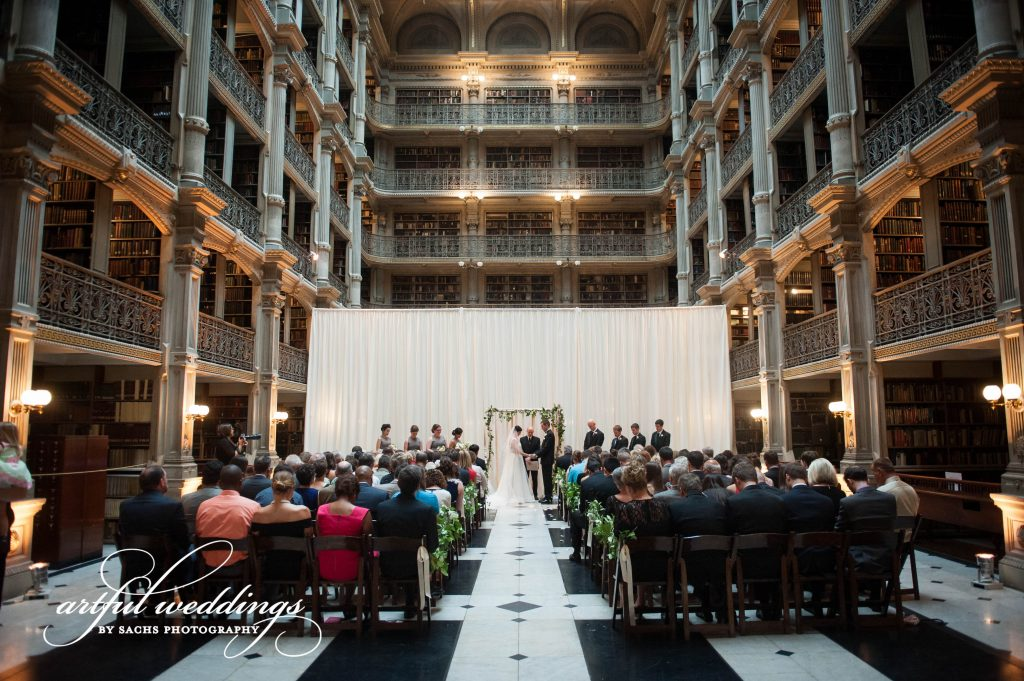 Wedding Ceremony in Reading Room