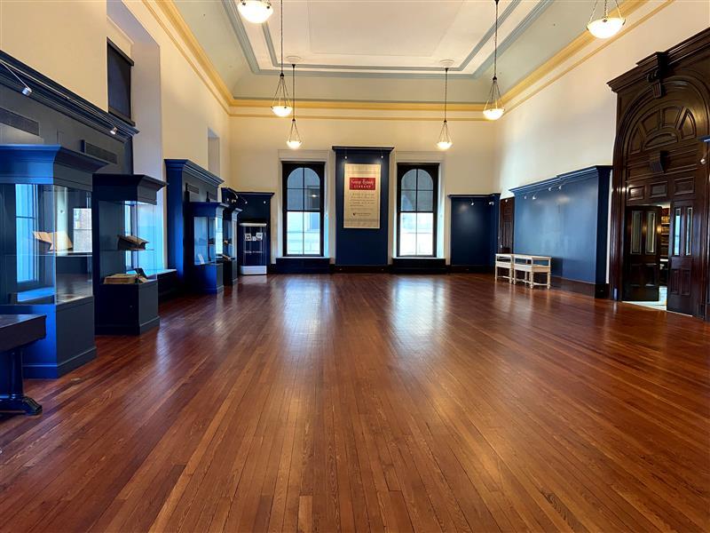 Empty Exhibit Gallery